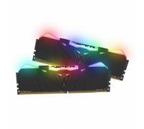 Patriot Viper RGB DDR4 16GB DUAL KIT (2x8GB) 2666Mhz CL15, BLACK (PVR416G266C5K)