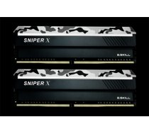 Sniper X 16GB DDR4 2400MHz atmiņas modulis (F4-2400C17D-16GSXW)