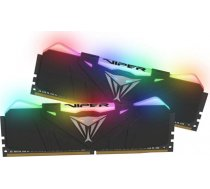 Patriot Viper RGB DDR4 16GB DUAL KIT (2x8GB) 3200Mhz CL16, BLACK (PVR416G320C6K)