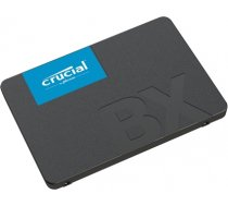 "Crucial BX500 120 GB, SSD form factor 2.5"", SSD interface SATA, Write speed 500 MB/s, Read speed 540 MB/s (CT120BX500SSD1)"