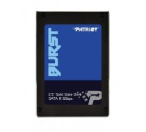 Patriot SSD Burst 960GB 2.5'' SATA3 6GB/s read/write 560/540 MBps, 3D NAND Flash (PBU960GS25SSDR)