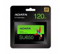 ADATA Ultimate SU650 120 GB, SSD interface SATA, Write speed 320 MB/s, Read speed 520 MB/s (ASU650SS-120GT-R)