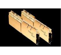 G.Skill Trident Z Royal DDR4 16GB (2x8GB) 3200MHz CL14 1.35V XMP 2.0 Gold (F4-3200C14D-16GTRG)