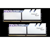 G.Skill Trident Z Royal DDR4 32GB (2x16GB) 3000MHz CL16 1.35V XMP 2.0 Silver (F4-3000C16D-32GTRS)