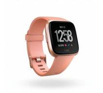Fitbit Versa (NFC) smartwatch Color LCD, Touchscreen, Bluetooth, Heart rate monitor, Peach / Rose Gold Aluminum (FB505RGPK-EU)