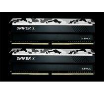 G.Skill Sniper X DDR4 16GB (2x8GB) 3200MHz CL16 1.35V XMP 2.0 Urban Camo (F4-3200C16D-16GSXWB)