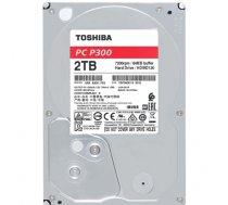 Toshiba HDD P300 Bulk 3.5 2TB SATA 7200RPM 64MB (MAN#HDWD120UZSVA)