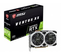 MSI GeForce RTX 2060 VENTUS XS 6G OC NVIDIA, 6 GB, GeForce RTX 2060, GDDR6, PCI Express x16 3.0, HDMI ports quantity 1, Memory clock speed 14000 MHz, Processor frequ (GEFORCE RTX 2060 VENTUS XS 6G OC)
