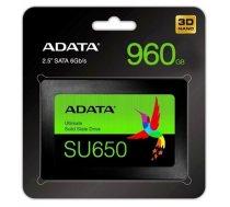 Drive ADATA Ultimate SU650 ASU650SS-960GT-R (960 GB ; 2.5 Inch; SATA III) (22002042DEEECA96FE02CA7AA08D7274420701B6)