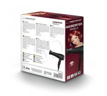 Dryer for hair Esperanza Pamela EBH004K (2200W; black color) (EF72407A663709248DAD8AF9CF30868C864B9840)