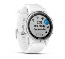 Watch sports Garmin Fenix 5S Plus Sapphire 010-01987-01 (white color) (FF91667FFBF320EDF1E4D2674AF5E62B6F0BE029)