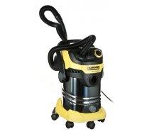 Vacuum cleaner bagless KARCHER WD 6 P Premium 1.348-272.0 (1300W; yellow color) (A710B6AC54A09AC15AC3A3C1F9E582B5CCA4194B)