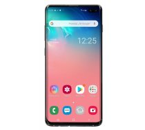 "Smartphone Samsung Galaxy S10+ 128GB White (6,4""; Dynamic AMOLED; 3040x1440; 8 GB; 4100mAh) (441913142E85F6892A080E74EE4F7AABF06F60C0)"