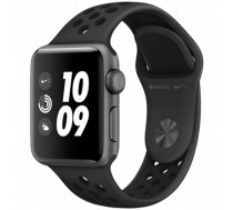 APPLE   Watch Nike+ Series 3 GPS, 38mm Space Grey Aluminium Case with Anthracite (MTF12GK/A)