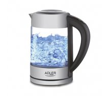 Kettle electric Adler AD 1247 (2200W 1.7l; silver color) (C79DF521B40A197BDBFCC6998FA9A249C4AE27CF)