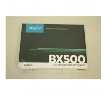 "SALE OUT. Crucial BX500 SSD 480 GB Crucial BX500 DAMAGED PACKAGING, 480 GB, 500 MB/s, 540 MB/s, SATA, 2.5"" (CT480BX500SSD1SO)"