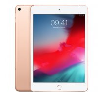 "Apple iPad Mini 7.9 "", Gold, Retina display, 2048x1536 pixels, A12 Bionic chip with 64‑bit architecture; Neural Engine; Embedded M12 coprocessor;, 64 GB, Wi-Fi, 4G, Front camera, 7 MP, Rea (MUX72HC/A)"