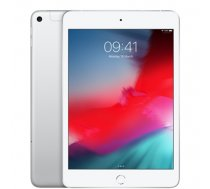 "Apple iPad Mini 7.9 "", Silver, Retina display, 2048x1536 pixels, A12 Bionic chip with 64‑bit architecture; Neural Engine; Embedded M12 coprocessor;, 64 GB, Wi-Fi, 4G, Front camera, 7 MP, R (MUX62HC/A)"
