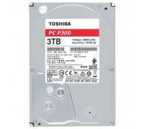 TOSHIBA HDD P300 BULK 3.5 3TB SATA 7200RPM 64MB (MAN#HDWD130UZSVA)