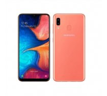 "Samsung Galaxy A20e Coral, 5.8 "", PLS TFT, 720 x 1560, Exynos 7884, Internal RAM 3 GB, 32 GB, microSD, Dual SIM, Nano-SIM, 3G, 4G, Main camera Dual 13+5 MP, Secondary camera 8 M (SM-A20E CORAL/ORANGE)"