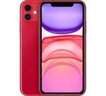 "Apple iPhone 11 Red, 6.1 "", IPS LCD, 828 x 1792 pixels, Hexa-core, Internal RAM 4 GB, 64 GB, Single SIM, Nano-SIM and eSIM, 3G, 4G, Main camera 12+12 MP, Secondary camera 12 MP, iOS, 13, 3 (MWLV2ET/A)"