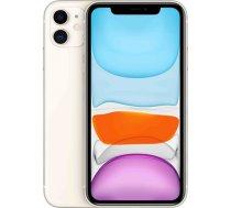 "Apple iPhone 11 White, 6.1 "", IPS LCD, 828 x 1792 pixels, Hexa-core, Internal RAM 4 GB, 64 GB, Single SIM, Nano-SIM and eSIM, 3G, 4G, Main camera 12+12 MP, Secondary camera 12 MP, iOS, 13, (MWLU2ET/A)"