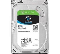HDD|SEAGATE|SkyHawk|3TB|SATA 3.0|256 MB|5400 rpm|Discs/Heads 2/4|ST3000VX009 (ST3000VX009)