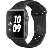 APPLE   Watch Nike+ Series 3 GPS, 38mm Space Grey Aluminium Case with Anthracite (MTF12EL/A)