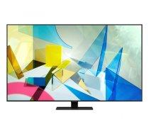 """Samsung Series 8 QE85Q80TAT 2.16 m (85"""") 4K Ultra HD Smart TV Wi-Fi Black, Silver (QE85Q80TATXXH)"""