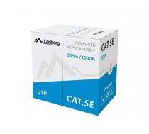 Lanberg LCU5-11CC-0305-S networking cable 305 m Cat5e U/UTP (UTP) Grey (904142888AA6590BE31127176F8655D41D6B5985)