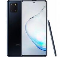 "Samsung Galaxy Note 10 Lite Black, 6.7 "", Super AMOLED, 1080x2400 pixels, Internal RAM 6 GB, 128 GB, microSD, Dual SIM, 4G, Main camera 12-12+12 MP, Secondary camera 32 MP, Android, 9.0, (N770F Black)"