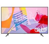 "TV Set SAMSUNG 75"" 4K/Smart QLED 3840x2160 Wireless LAN Bluetooth Wi-Fi Direct Tizen Titanium QE75Q67TAUXXH (QE75Q67TAUXXH)"