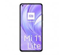 "Xiaomi Mi 11 Lite 16.6 cm (6.55"") Dual SIM MIUI 12 4G USB Type-C 6 GB 128 GB 4250 mAh Black (90C267ADFFB8B6CF282CD60610954D45BE3CCE3C)"
