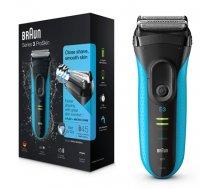 Braun Series 3 3040s Foil shaver Trimmer Black, Blue (7F786BAA74DA183A843AAF1531BBA3C6996ADBD0)