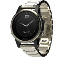 Garmin Fenix 5S Sapphire Champagne Sapphire with Metal Band
