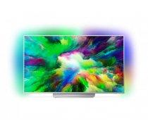 PHILIPS UHD LED Android televizors , 139cm 55PUS7803/12 (55PUS7803/12)