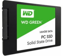 SSD|WESTERN DIGITAL|Green|120GB|SATA 3.0|TLC|Read speed 545 MBytes/sec|2,5"