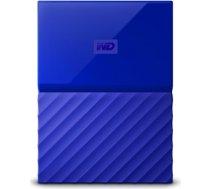 External HDD WESTERN DIGITAL My Passport 3TB USB 3.0 Colour Blue WDBYFT0030BBL-WESN