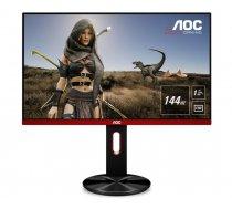 "AOC Gaming G2590PX monitori 62,2 cm (24.5"") Full HD LED Plakana virsma Plakans Melns, Sarkans"