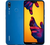 "Huawei P20 Lite, 5.84 "", 64GB, Dual Sim, zils (Klein Blue)"