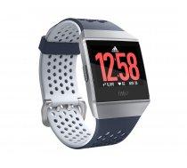 Fitbit Ionic Adidas Edition fitnesa viedpulkstenis, zils/pelēks (Blue/Ice Gray), FB503WTNV