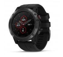 Garmin fēnix 5X Plus GPS fitnesa viedpulkstenis, melns/melns (Sapphire Black/Black Band), 010-01989-01