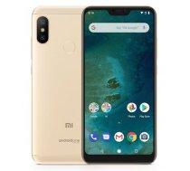 "Xiaomi Mi A2 Lite, 5.84"", 32GB, Dual Sim, zelta (Gold), MZB6399EU"