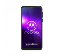 "Motorola one Macro 15,8 cm (6.2"") 4 GB 64 GB 4G USB Veids-C Zils Android 9.0 4000 mAh"