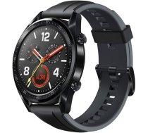 Huawei Watch GT Sport GPS fitnesa viedpulkstenis, melns (Black), 55024474