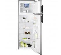 Electrolux EJ2801AOX2 ledusskapis ar saldētavu, 159 cm, nerūsējošais tērauds