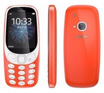 Nokia 3310 mobilais telefons, Dual Sim, sarkans