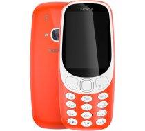 Nokia 3310 mobilais telefons, Dual Sim, ENG/RUS, sarkans