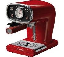 Ariete Cafe Retro Red 1388 espresso maltas kafijas un kafijjas tablešu automāts