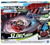 Hasbro Beyblade Burst Turbo Slingshock Rail Rush Battle Set